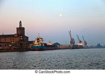 porto, em, gdansk