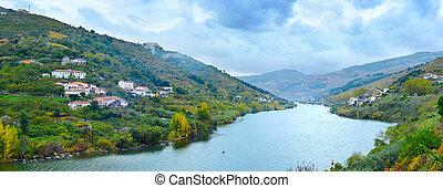 porto, gebiet, wein, portugal, wineyards
