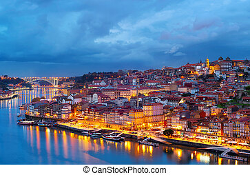 porto, horizon, portugal