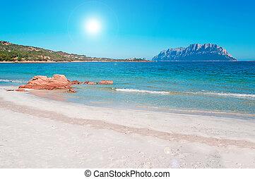 Porto Istana rocks - Porto Istana beach on a sunny day