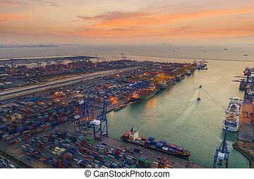 porto, logistico
