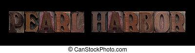 porto pérola, em, antigas, madeira, tipo