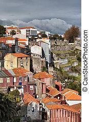 porto, portugal, maisons