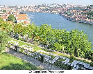 porto, portugal, panorama
