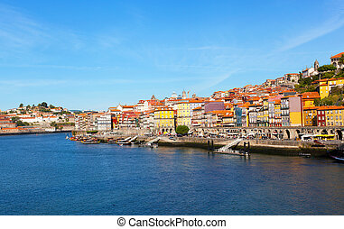porto, portugal, tidig om morgon