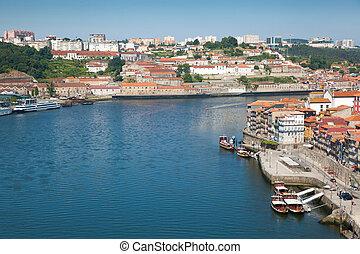 porto, portugalia, prospekt