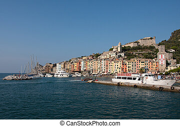 Porto Venere, Cinque Terre - Porto Venere, town located on...
