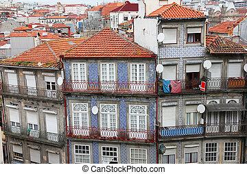 porto, ville, portugal.