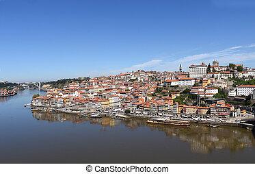porto, vue, portugal