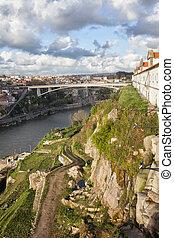 porto, y, vila, nova, de, gaia, en, portugal