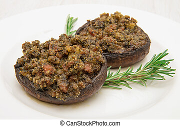 portobello mushrooms stuffed