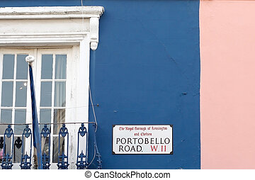 Portobello Rd. in London