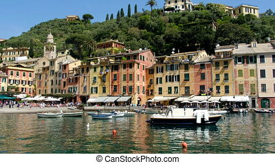 Portofino buildings and houses - Tigullio gulf - Genoa...