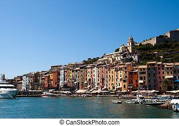 Portovenere harbour, Italy