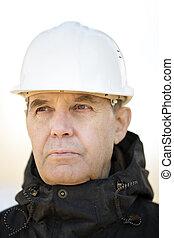 Porträt, Baugewerbe, arbeiter