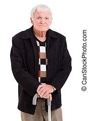 portræt, gammel mand