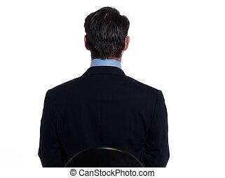 portræt, pæn, mand, forretningsmand