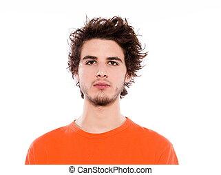 portræt, unge menneske