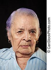 portré, nagyanyó