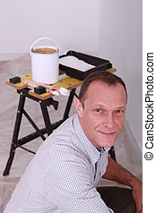 portré, szobafestő