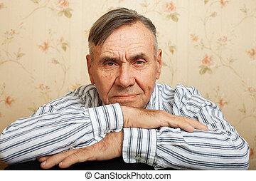 portrét, o, představený voják, povolit at home