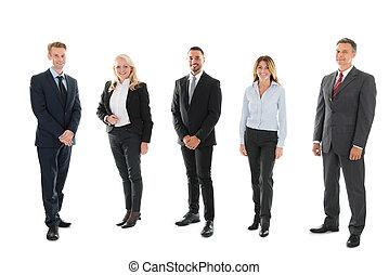 portrét, sebejistý, business národ