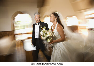 portrait., 結婚式