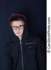 portrait, adolescent