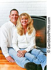 Portrait - Beautiful Married Couple