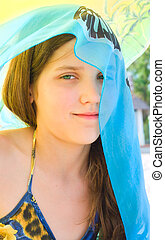 Portrait beauty teen Girl