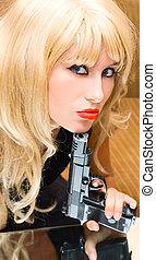 Portrait Blonde girl