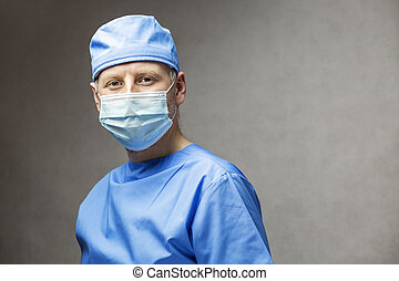portrait, chirurgien