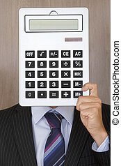 portrait, comptable