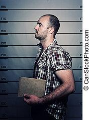 portrait, criminel