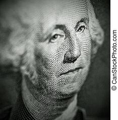 portrait, de, george washington