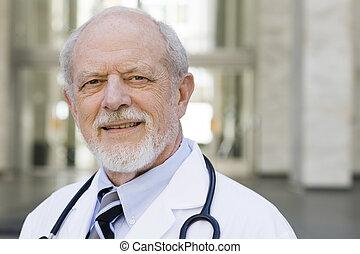 portrait, docteur