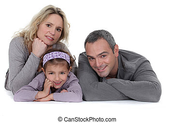 portrait, famille