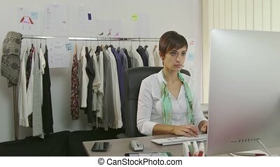 Portrait Female Manager At Work