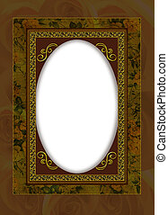 portrait frame collage