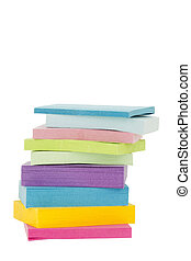 pile of colorful sticky notes