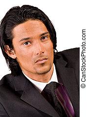 Portrait in a business suit