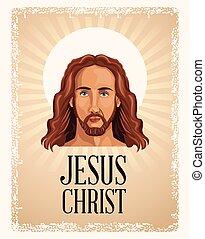 portrait jesus christ religious