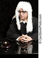 portrait, lunettes, mâle, avocat