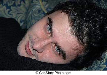 Portrait male model - Portrait of male model