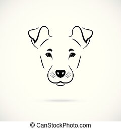 portrait, manchester, terrier.