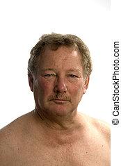 portrait middle age man