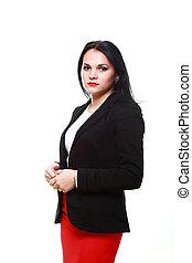 portrait modern business woman