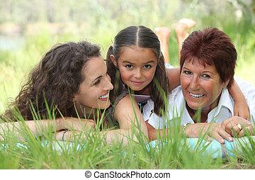 portrait of 3 generations
