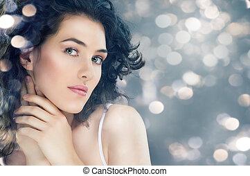 healthy woman - portrait of a beautiful healthy woman