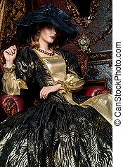 lush expensive dress